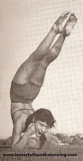 Elbow Stand Balance