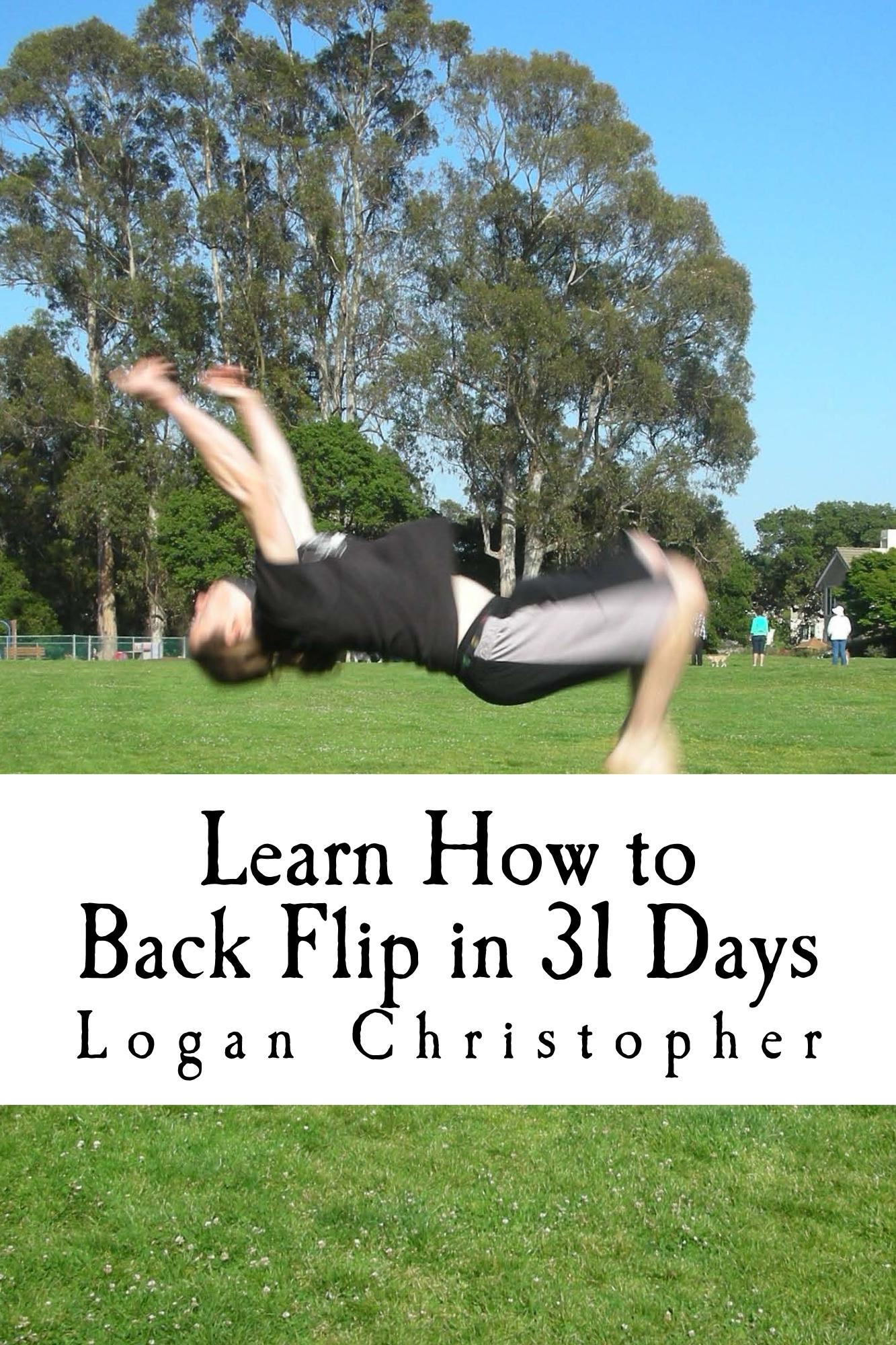 Learn How to Back Flip in 31 Days